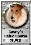 Casey's Celtic Charm Award: Sliver  (5 March 2011) Award Sites! 5.0+ WebsAwards 5