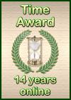Time Award: 14 Years Online