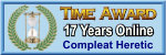 Time Award: 17 Years Online